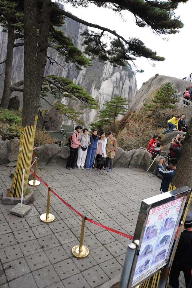 Picture Spot at Huangshan