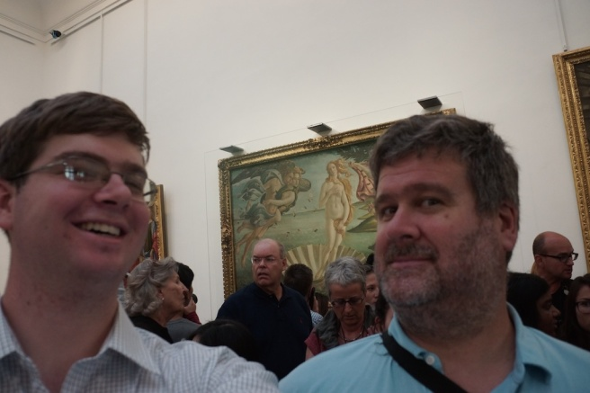 Botticelli Selfie