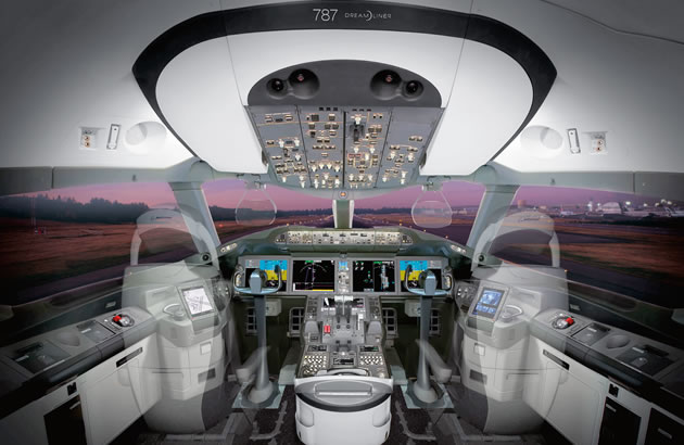 787-flight-deck