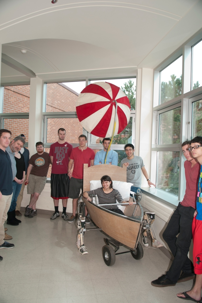 umbrellacar with students.jpg