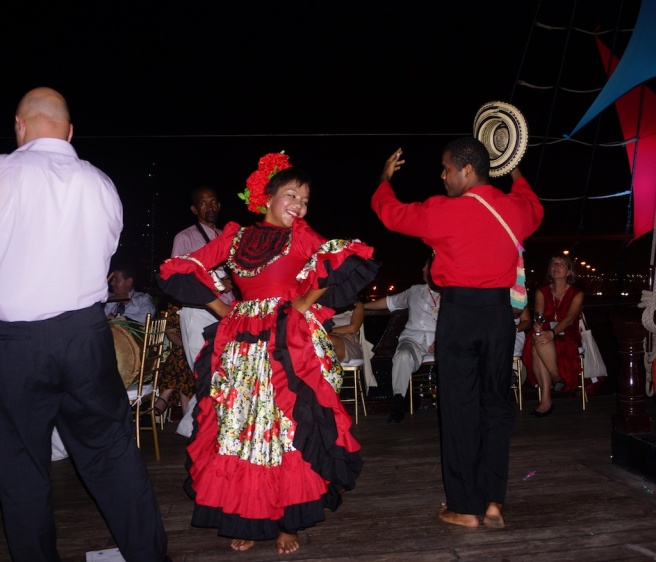 Colombian Folk Dance