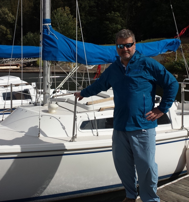 Skinny Chuck Mike Sailboat