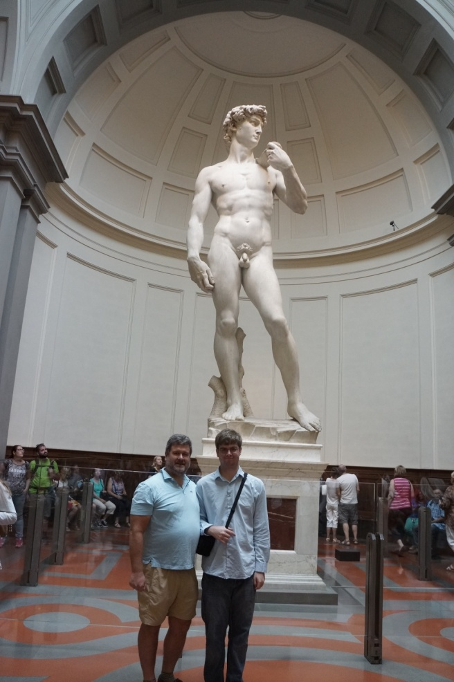 Michelangelo David Father Son