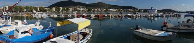 Aegean Sea Harbor