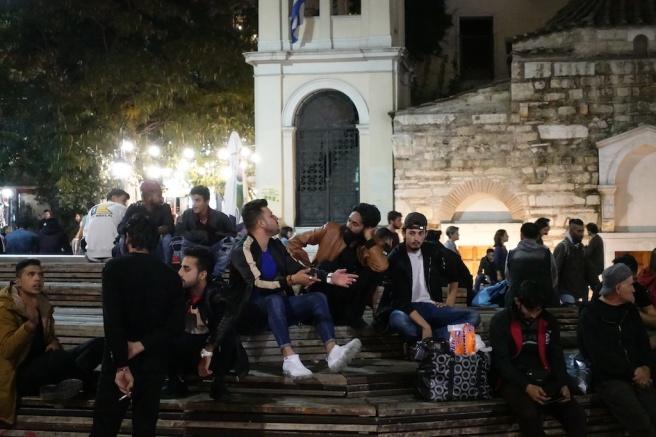 Monastiraki locals - Greece