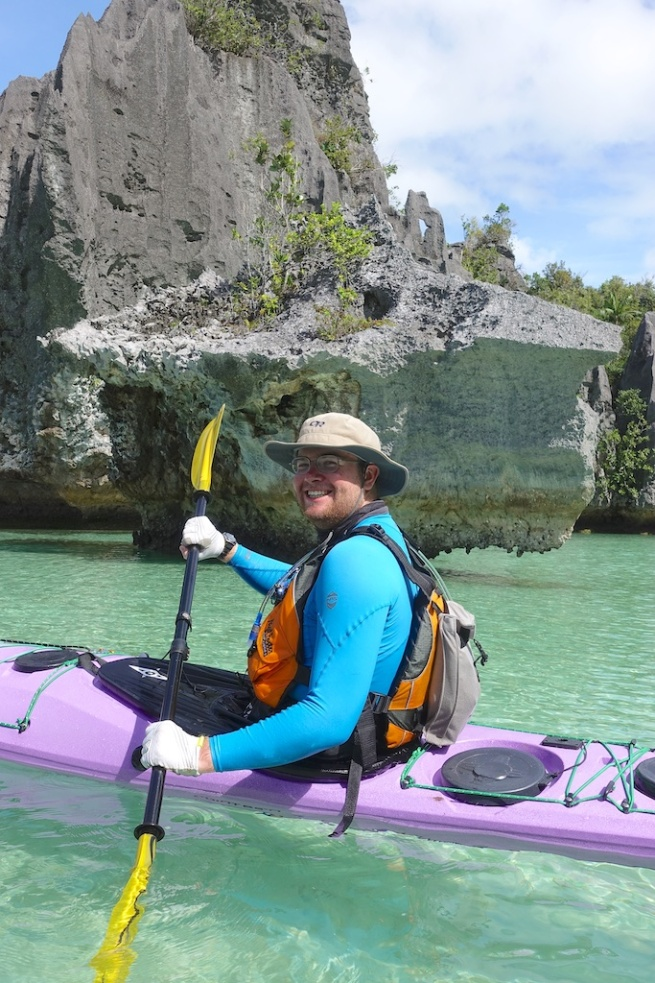 Braden Sea Kayak Inverted Island